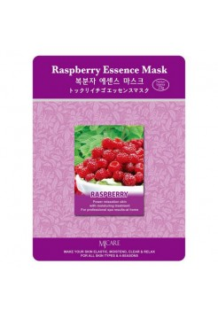 МЖ Essence Маска тканевая малина Raspberry Essence Mask 23гр