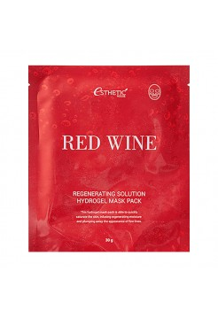 [ESTHETIC HOUSE]Гидрогел. маска д/лица RED WINE REGENERATING SOLUTION HYDROGEL MASK PACK