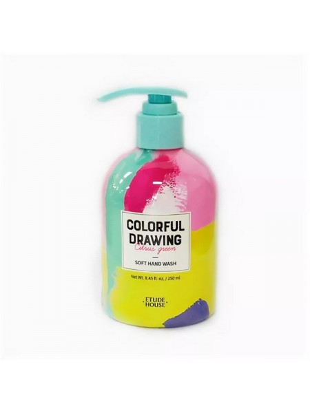 ЭХ Жидкое мыло для рук ET.COLORFUL DRAWING SOFT HAND WASH(COLORFUL DRAWING) 250мл