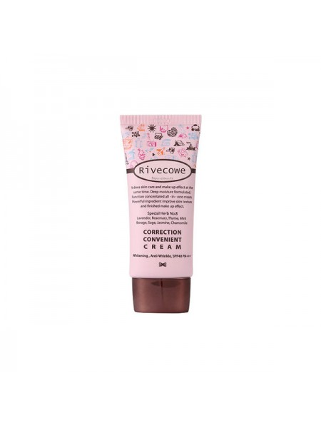 [RIVECOWE Beyond Beauty] Тональный крем Correction Convenient Cream SPF 43 РА+++ 5мл